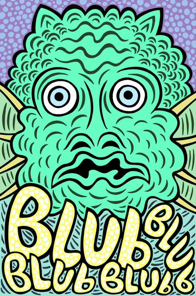 Blub. stock illustration