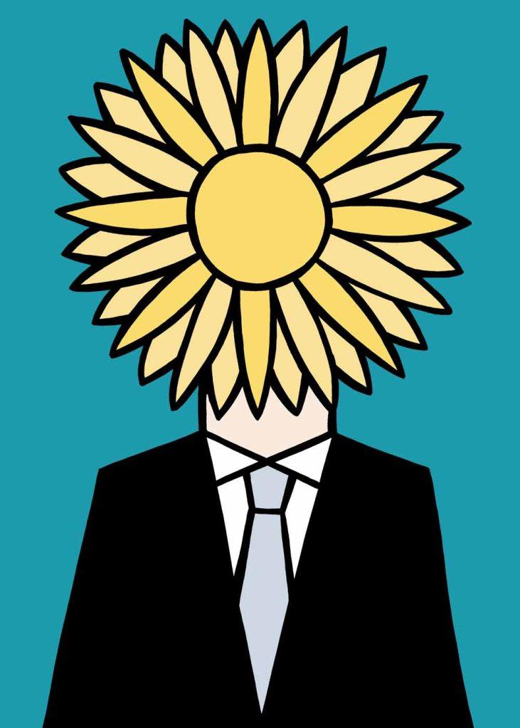 I am your sunshine. stock illustration
