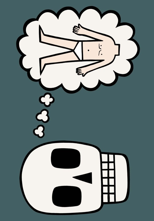 I dream of you illustration