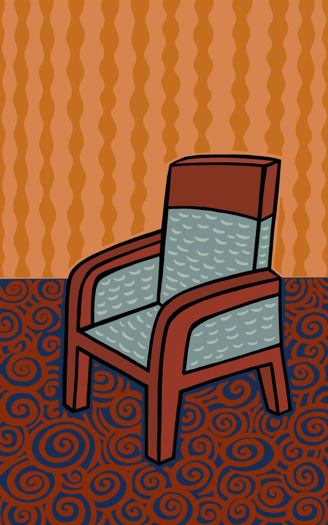a chair stock illustration